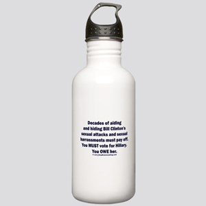 Hillary helped Bill at Stainless Water Bottle 1.0L