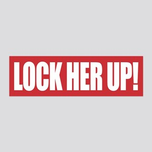 Lock Her Up 20x6 Wall Decal