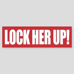 Lock Her Up Bumper Sticker