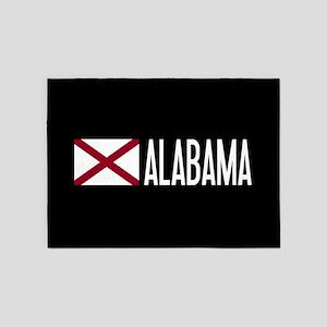 Alabama: Alabamian Flag & Alabama 5'x7'Area Rug