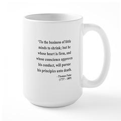 Thomas Paine 9 Large Mug