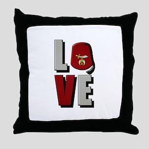 Shrine Love Throw Pillow