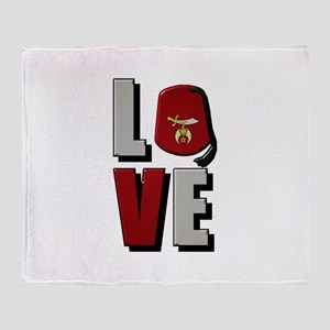 Shrine Love Throw Blanket