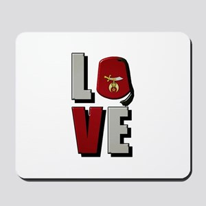 Shrine Love Mousepad