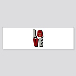 Shrine Love Bumper Sticker