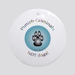 Anti Breed Specific Legislation Ornament (Round)