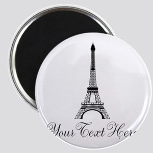 Personalizable Eiffel Tower Magnets