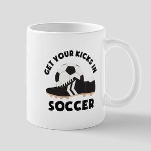 Soccer Kicks Mugs