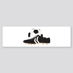 Soccer Gear Bumper Sticker