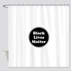 Black Lives Matter Shower Curtain