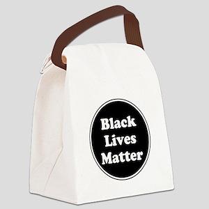 Black Lives Matter Canvas Lunch Bag