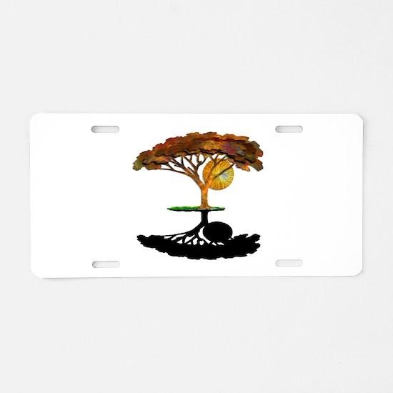 SHADOW Aluminum License Plate
