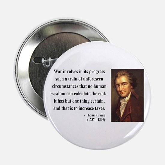 """Thomas Paine 10 2.25"""" Button"""