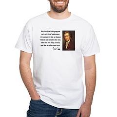 Thomas Paine 10 White T-Shirt