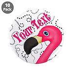 Pink Flamingo Black 3.5