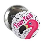 Pink Flamingo Black 2.25