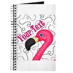 Pink Flamingo Black Journal
