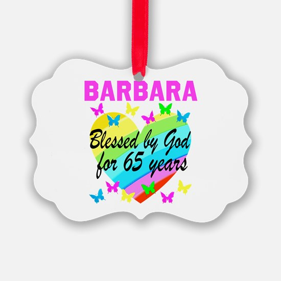 65TH CHRISTIAN Ornament