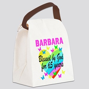 65TH CHRISTIAN Canvas Lunch Bag