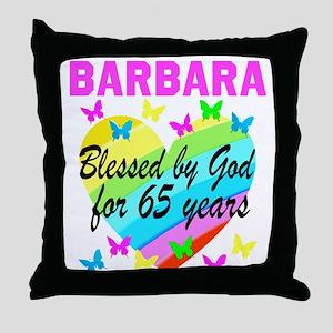 65TH CHRISTIAN Throw Pillow