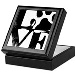 Love Dogs Paw Print Keepsake Box