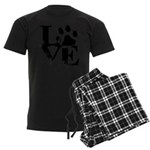Love Dogs Paw Print Pajamas