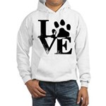 Love Dogs Paw Print Sweatshirt