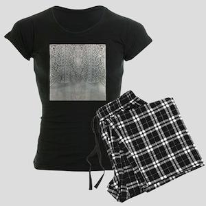grey linen bohemian lace Pajamas