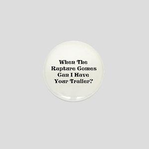 Rapture Humor Mini Button