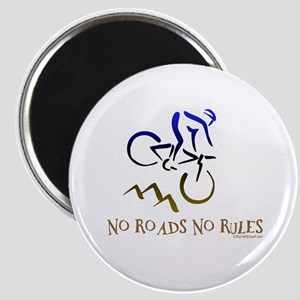 NO ROADS NO RULES Magnet