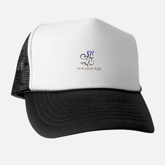 NO ROADS NO RULES Trucker Hat
