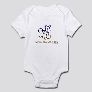 NO ROADS NO RULES Infant Bodysuit