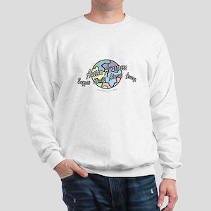 Autism Awareness Globe Sweatshirt
