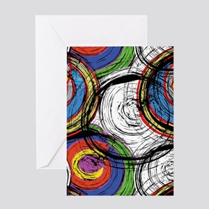Urban Abstract Greeting Cards