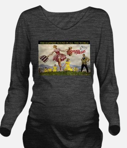 Sound Of Music Long Sleeve Maternity T-Shirt