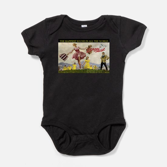 Sound Of Music Baby Bodysuit