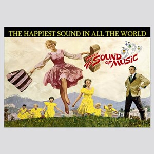 Sound Of Music Wall Art