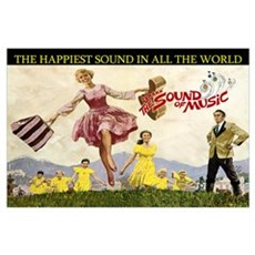 Sound Of Music Wall Art Poster