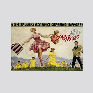 Sound Of Music Rectangle Magnet