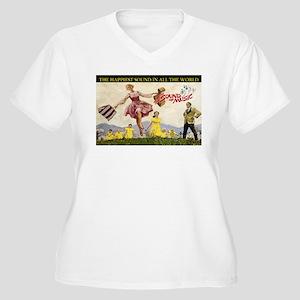 Sound Of Music Women's Plus Size V-Neck T-Shirt