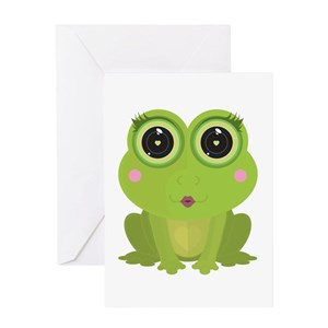 Kermit the frog greeting cards cafepress m4hsunfo