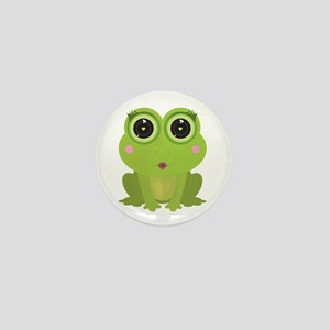 Female Frog Mini Button