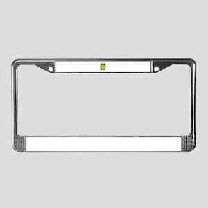 Female Frog License Plate Frame