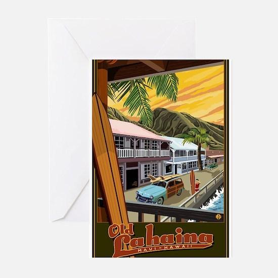 Lahaina, Hawaii Greeting Cards