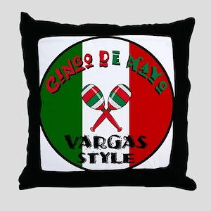 Vargas Cinco De Mayo Throw Pillow