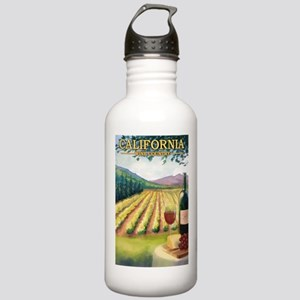California - Wine Country Water Bottle