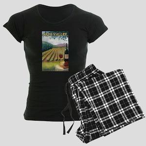 Napa Valley, California - Wine Country Pajamas