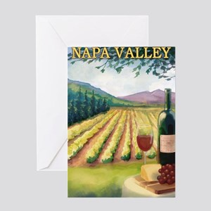 Napa Valley, California - Wine Country Greeting Ca