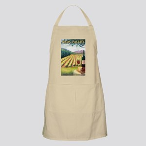 Napa Valley, California - Wine Country Apron