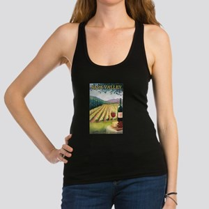 Napa Valley, California - Wine Country Racerback T